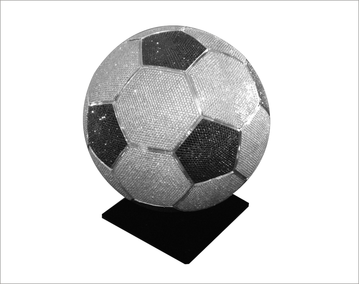 542f168a5 Sterling silver life size soccer ball - Point Jewellery Exchange