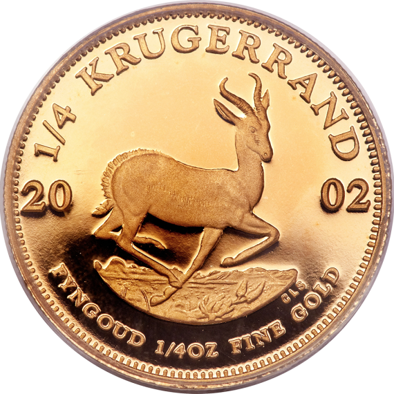 How much is a Krugerrand worth