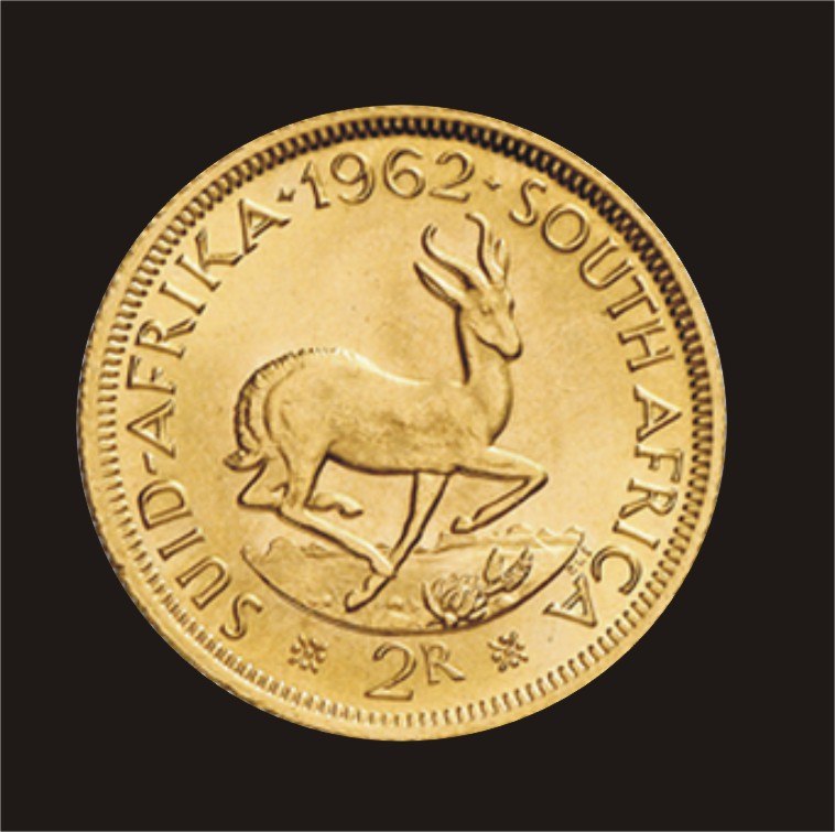 Two Rand Gold Coin